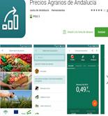 Una aplicación móvil para consultar el Observatorio de Precios y Mercados de Andalucía