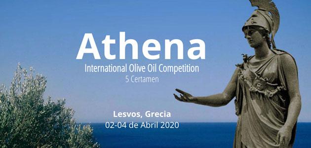 Athena International Olive Oil Competition se celebrará del 2 al 4 de abril en Lesbos