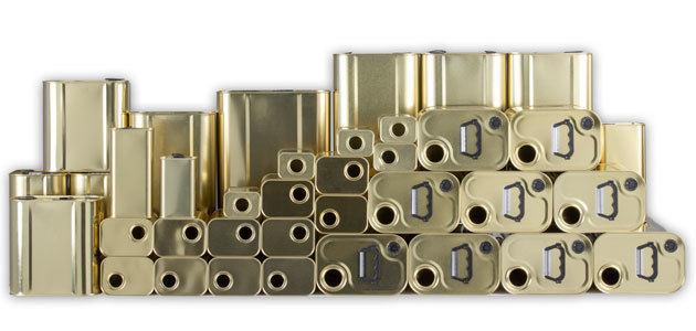 Los envases metálicos para aceite de oliva de Auxiliar Conservera a un solo click