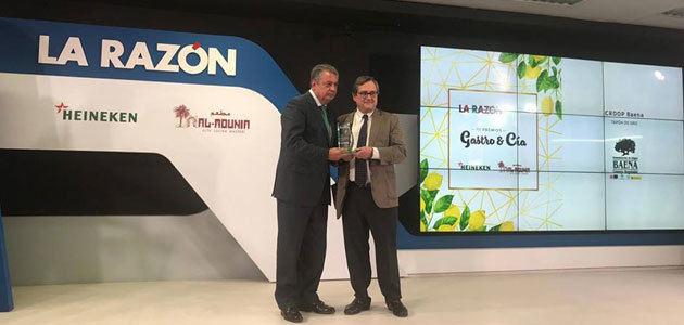 """La DOP Baena, Premio """"Tapón de Oro"""" en la III Edición de los premios Gastro & Cia del Diario LA RAZÓN"""