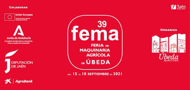 Úbeda celebrará la 39º Feria de Maquinaria Agrícola del 15 al 18 de septiembre