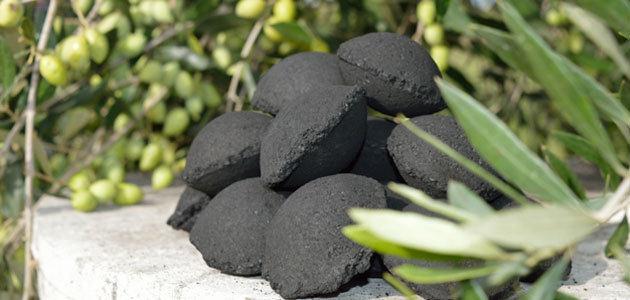 El combustible ecoinnovador para barbacoas a partir del hueso de aceituna