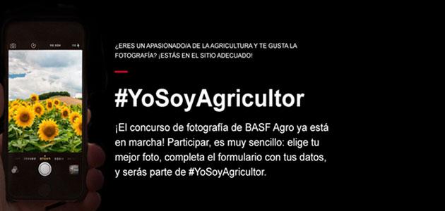 BASF Agro lanza #YoSoyAgricultor, un concurso de fotografía para dar visibilidad al sector agrario