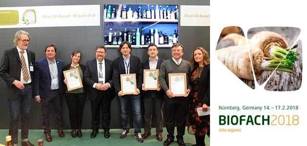 Diez AOVEs ecológicos españoles resultan premiados en Biofach 2018