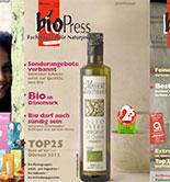 España coloca 11 firmas de AOVE en el Top25 de la revista alemana bioPress