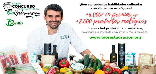 Ecovalia lanza la segunda edición del concurso de cocina ecológica BioRestauración