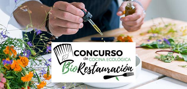 Abierto el plazo de inscripción al concurso de cocina ecológica BioRestauración