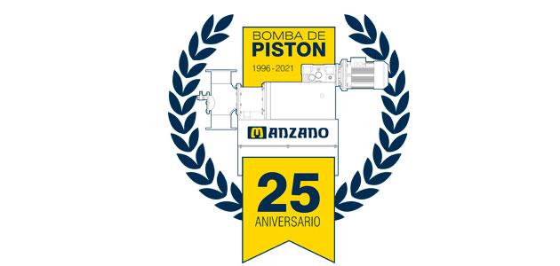 Manzano-Flottweg celebra el 25º aniversario del diseño original de la bomba de pistón