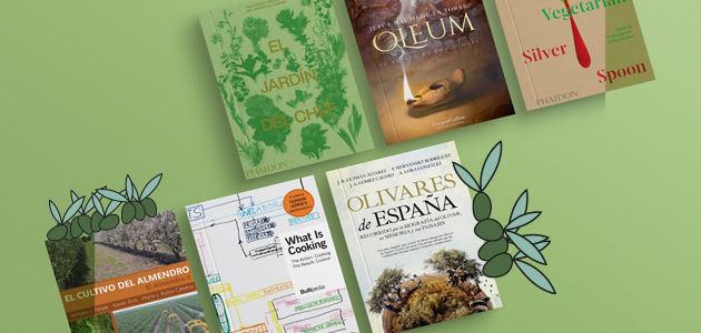 Diez publicaciones oleícolas y gastro para leer en Semana Santa