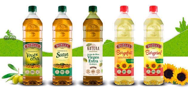 Borges lanza su primera botella de 1 litro que incorpora un 25% de plástico reciclado