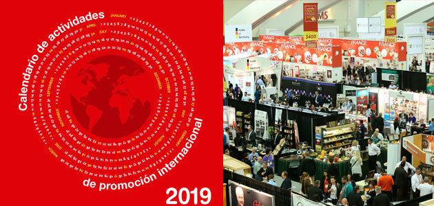 FIAB publica su calendario de actividades de promoción internacional para 2019