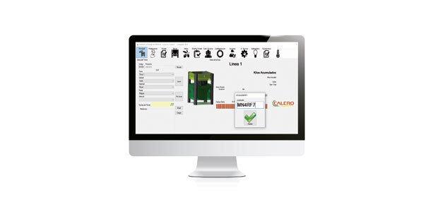 Calero desarrolla un sistema de lectura de código de barras para insertar los datos del DAT