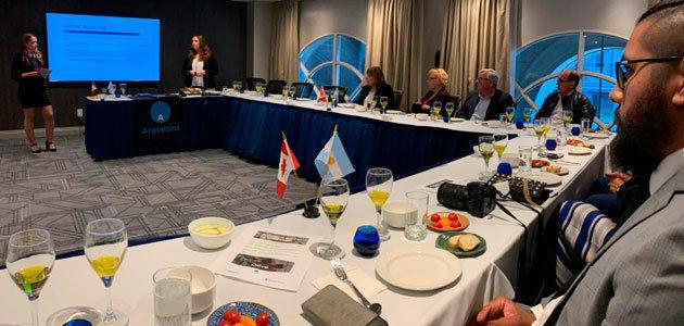 Promoción comercial del olivo argentino en Catamarca y Canadá