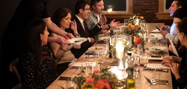 Periodistas de Nueva York descubren las posibilidades del aceite de oliva de la mano del chef Seamus Mullen