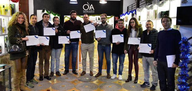 """Curso intensivo de iniciación a la cata de AOVE, nueva acción formativa del Centro """"Olivar y Aceite"""""""