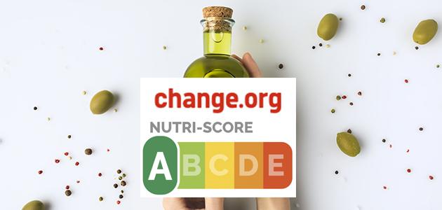 Mercacei y la Sectorial Nacional del AOV con DOP abren una petición en Change.org para elevar a la categoría A el AOVE en el Nutri-Score