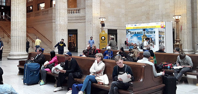 El Olive Oil World Tour llega a la Union Station de Chicago