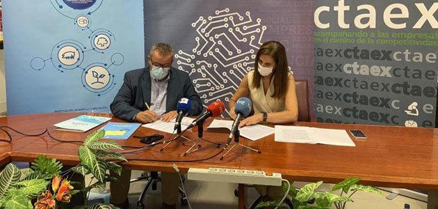 Cicytex y Ctaex firman un convenio para dinamizar la I+D+i en el sector agroalimentario