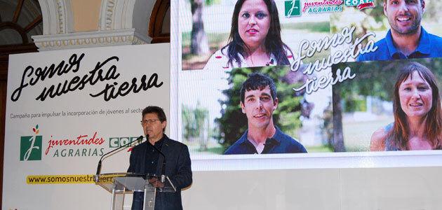 """""""#SomosNuestraTierra"""", una campaña para facilitar la incorporación de jóvenes al sector agrario"""
