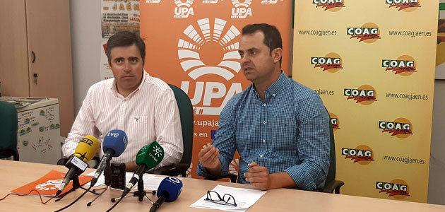 COAG y UPA convocan una concentración en Jaén por los bajos precios en origen del aceite de oliva