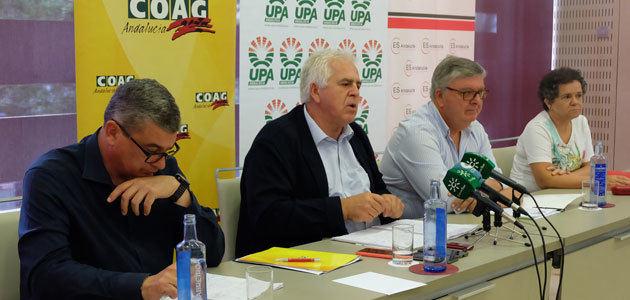 COAG y UPA animan al sector a acudir a la #GranManifestación9J en Sevilla por los precios del aceite de oliva