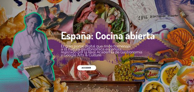 Nace 'España: Cocina abierta', un portal digital dedicado a la promoción de la gastronomía española