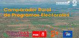 Un Comparador Rural de Programas Electorales analiza los 50 temas clave en materia de agricultura