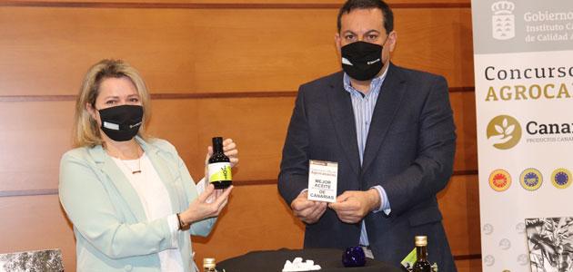 Oleoteide gana el Concurso Oficial de AOVE Agrocanarias 2021