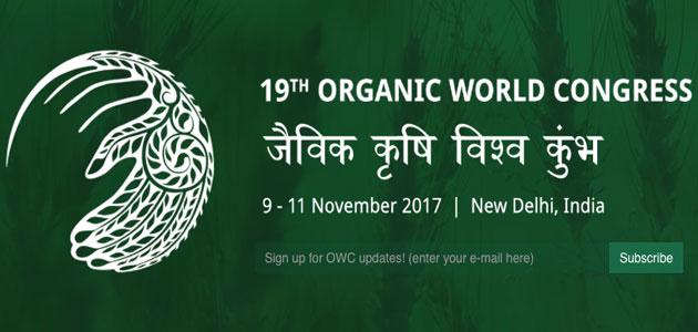 India acogerá en noviembre el Congreso Mundial de Agricultura Ecológica