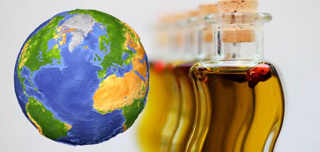 El consumo mundial de aceite de oliva aumenta un 49% en 25 años