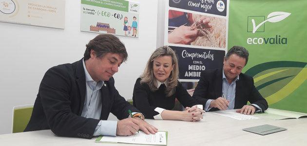 Carrefour y Ecovalia renuevan su compromiso para fomentar el consumo de productos ecológicos