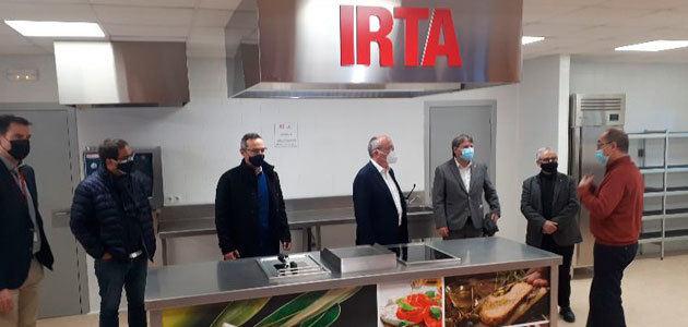 El IRTA inaugura un CookingLab y un showroom para el sector del aceite de oliva