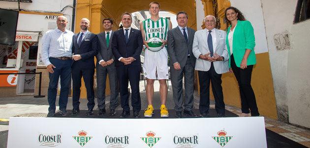 Coosur, nuevo patrocinador principal del Real Betis de baloncesto