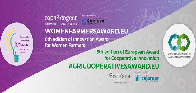 El Copa-Cogeca pone en marcha el premio a la innovación para las agricultoras y las cooperativas agrarias