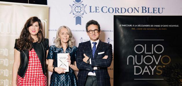 Olio Nuovo Days y la Guía EVOOLEUM 2018 se presentan en Le Cordon Bleu de París en una velada única