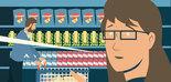¿Cómo saber si un alimento es saludable, seguro o sostenible? Descúbrelo en el cómic 'Aventuras en el supermercado'