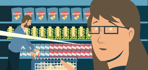 ¿Cómo saber si un alimento es saludable, seguro o sostenible? Descúbrelo en el cómic