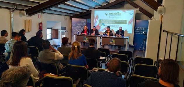 """La transformación internacional en la elaboración del aceite de oliva protagoniza el quinto """"Momento Expoliva"""""""