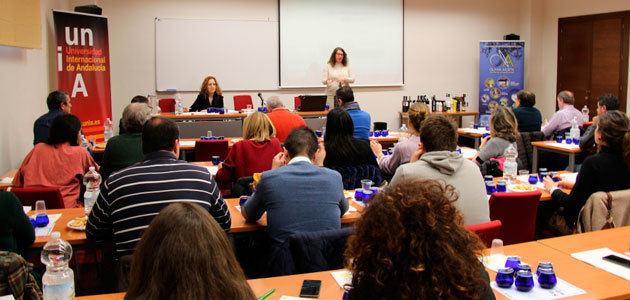 La UNIA celebra un curso de cata de aceite de oliva virgen para maestros y operarios de almazaras