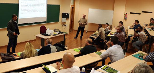 Comienza la cuarta edición del curso de formación en elaboración de aceite de oliva de GEA Iberia y la UJA