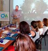 Nuevos cursos de cata de aceite de oliva virgen en el Centro Olivar y Aceite de Úbeda