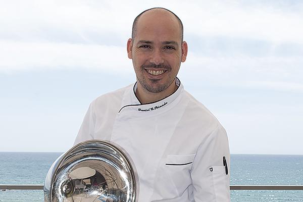 Daniel García Peinado, el chef del AOVE