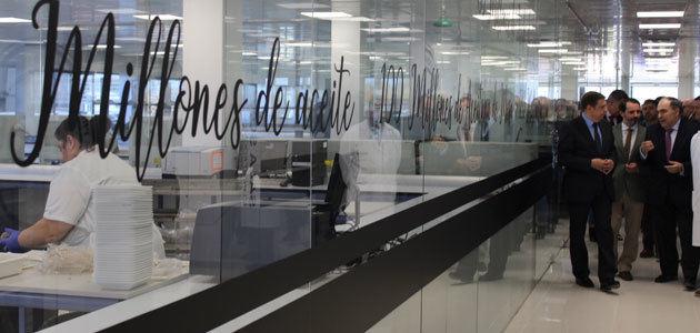 Dcoop inaugura su nuevo Laboratorio de Aceite y Aceituna