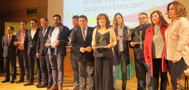La casa del aceite, premio al mejor establecimiento de productos Degusta Jaén