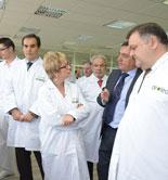Deoleo invierte 600.000 euros en la renovación de los laboratorios de la fábrica de Córdoba