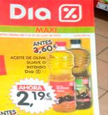 COAG pide a la AICA que investigue un presunto caso de 'venta a pérdidas' de aceite de oliva en DIA