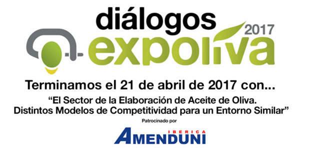 """La competitividad del sector oleícola protagonizará el cuarto de los """"Diálogos Expoliva 2017"""""""