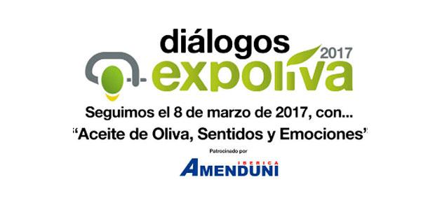El tercero de los 'Diálogos Expoliva 2017' abordará el AOVE desde los sentidos y las emociones