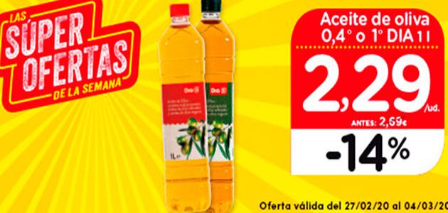 UPA denuncia que DIA está realizando ofertas 'abusivas' con el aceite de oliva