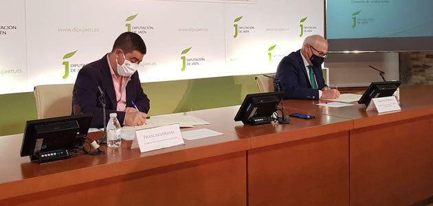 La Diputación de Jaén apoya con otros 25.000 euros la puesta en funcionamiento de los órganos de la IGP Aceite de Jaén